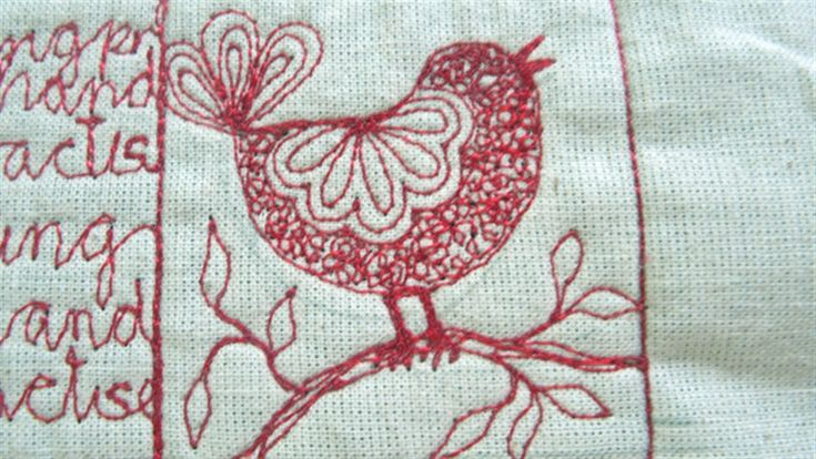 Machine embroidery projects use the sewing