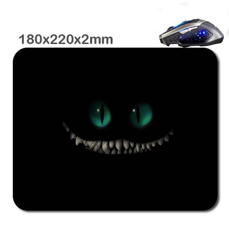 Großartig HD Gato En La Oscuridad Mousepad Gaming Laser Mouse Pad 2016 Computer  Accessories Optical Mice Mat