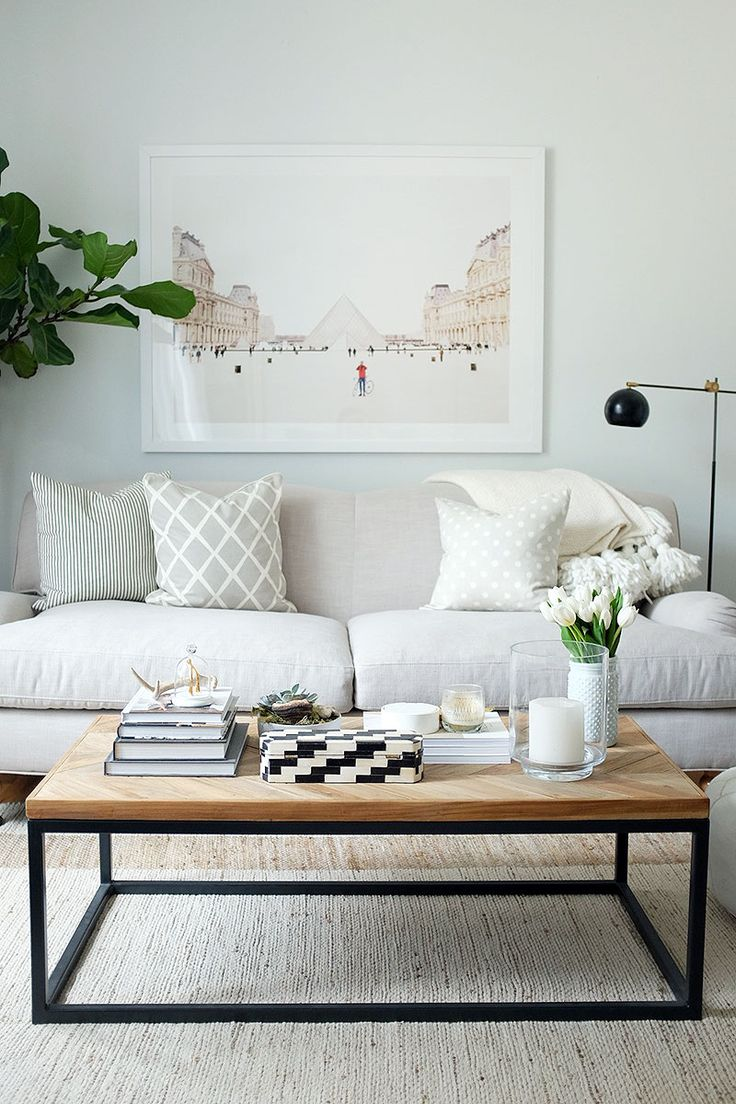 3 statement pieces that can transform a room from the everygirl i love the clean table and mix of neutrals in this space ive bee dreaming of a statement