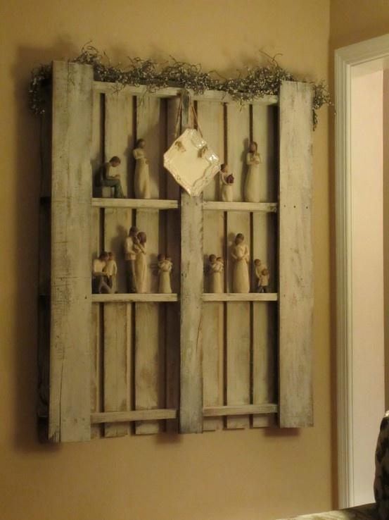 old wood pallet...