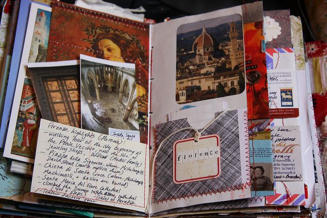 I dream of making such a lush memory book from my next trip..  Paris ~ London ~ Bath in 2012 - HERE I COME!