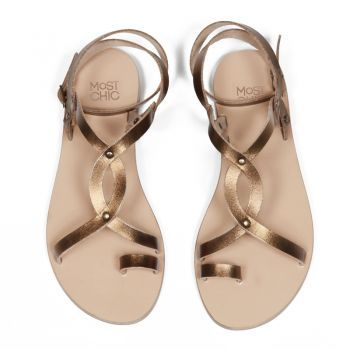 the one we love most  ''jasmine'' bronze the Most Chic sandals collection
