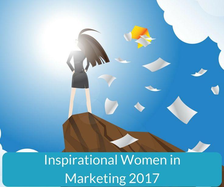 Inspirational Women in Marketing 2017