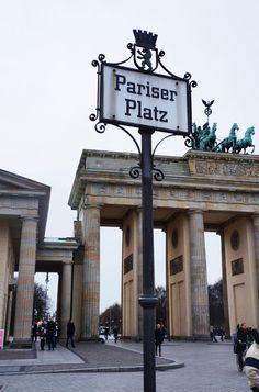 Berlin Pariser Platz Porte de Brandebourg Brandenburger-Tor Brandenburg Gate