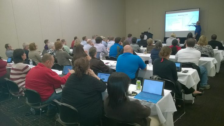 Full house at our data de-duplication session at CRMUG Summit 2014! http://www.qgate.co.uk/data-and-bi-solutions/paribus-discovery/