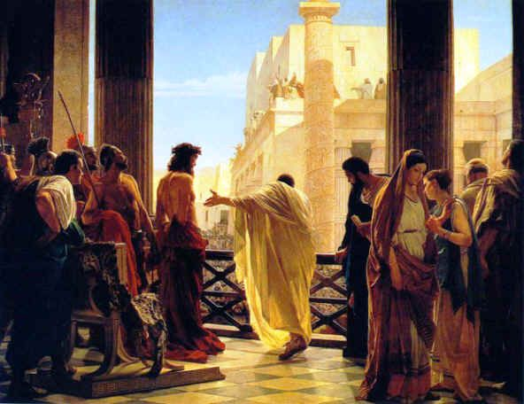 "I LOVE this painting ""Ecce Homo"" Behold The Man by Antonio Ciseri"
