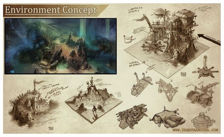 act 2 environment concept