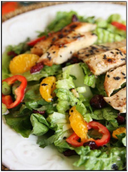 Chicken salad with quinoa and oranges   http://www.ibssanoplus.com/low_fodmap_chicken_salad_quinoa_oranges.html