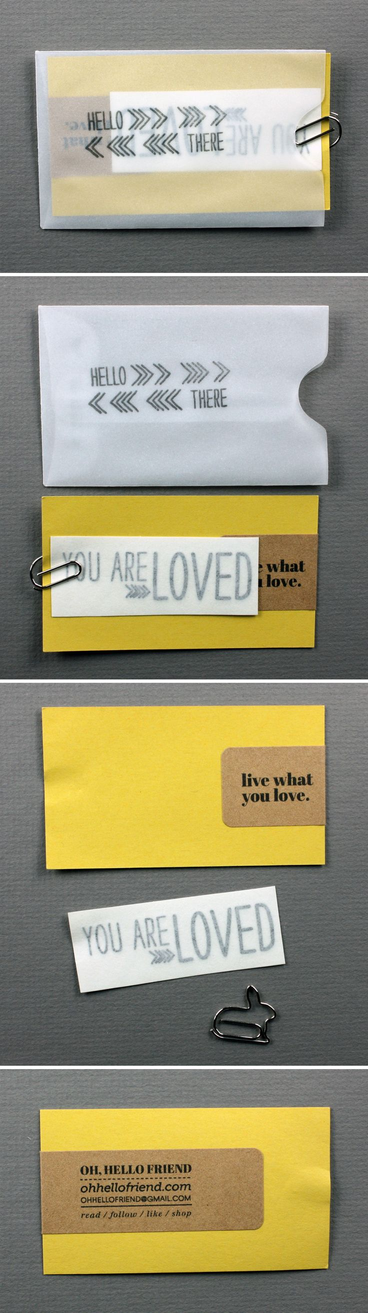 149 best business card inspiration images on pinterest carte de diy business card via oh hello friend these diy business cards are amazing reheart Choice Image