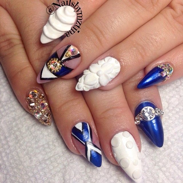 Stilleto Nail Ideas For Prom: Best 25+ Stiletto Nail Art Ideas On Pinterest
