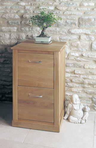 Mobel Oak Two Drawer Filing Cabinet #oak #furniture #home #decor #interior #inspiration #traditional #diningroom #livingroom #lounge #drawer #filing #cabinet