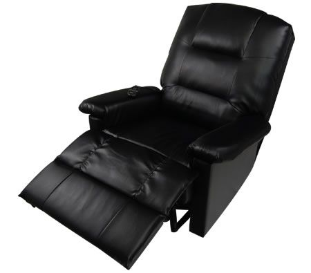 Massage Lounge Chair Recliner with Remote Control $227.95