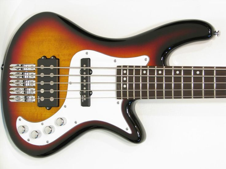 Schecter Stiletto Vintage-5 Five-String Electric Bass Guitar Sunburst - https://magemusiconline.com/product/schecter-stiletto-vintage-5-five-string-electric-bass-guitar-sunburst/