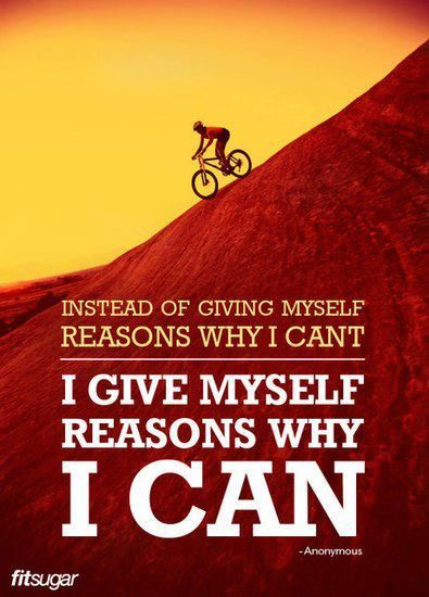 muffintop-less:    Instead of giving myself reasons why I can't, I give myself reasons why I can.: Fit Workout, Remember This, Workout Exerci, Workout Fit, Work Outs, Motivation Quotes, Motivation Fit Quotes, Fit Motivation, Stay Motivation