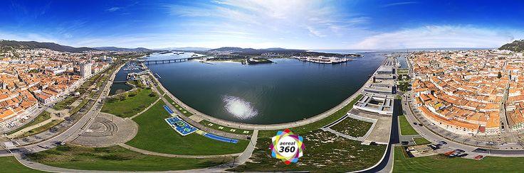 Panoramas 360º aéreos de Viana do Castelo