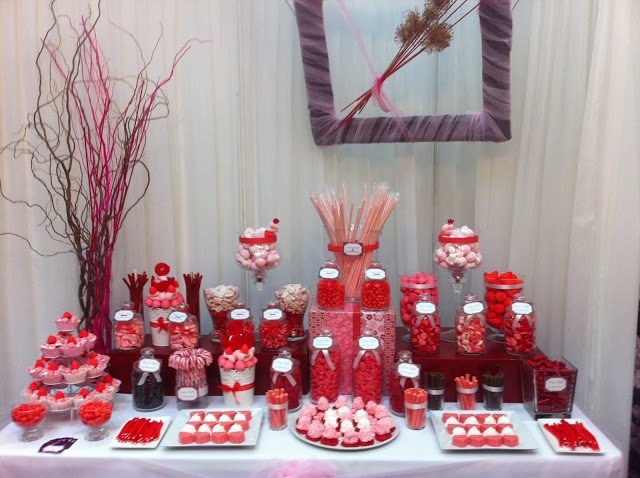 candy buffet - mesa de chuches