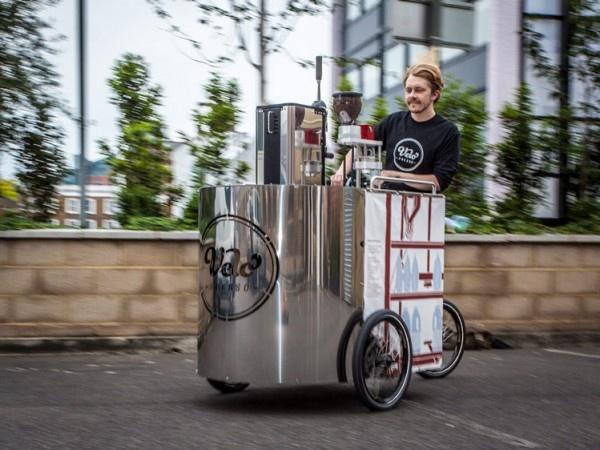 Velopresso: la macchina da caffè a pedali. Mobilità ed ecologia per un buon caffè