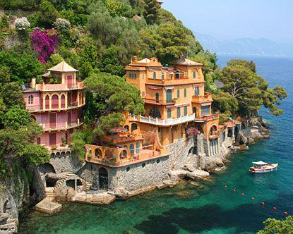 Italian coast villasBuckets Lists, Dreams Home, Favorite Places, Lakes Como, Dreams House, Places I D, Portofino, Travel, Italy