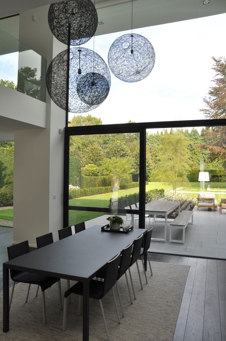 House VGL Belgium - Dining room by vlj architecten