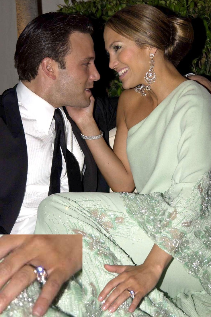 Ben Affleck Proposed To (then) Girlfriend, Jennifer Lopez With A 65 Carat  Pink