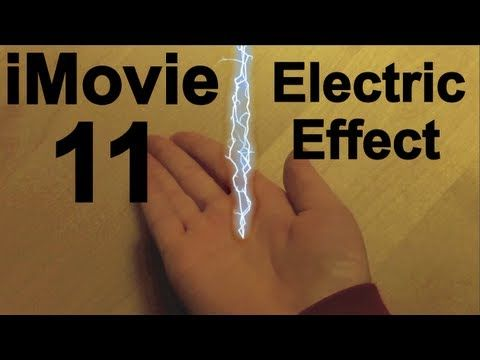How to do the Electricity Effect in iMovie 11 | Special Effects