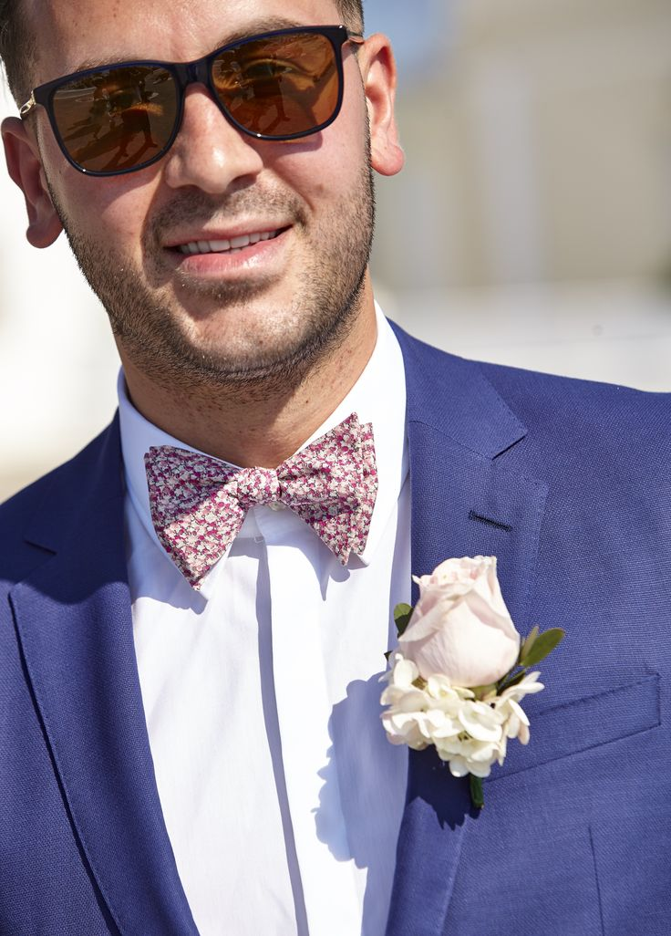 Groom, Boutonniere, Amazing Blue, Costume, Marriage, Happy,