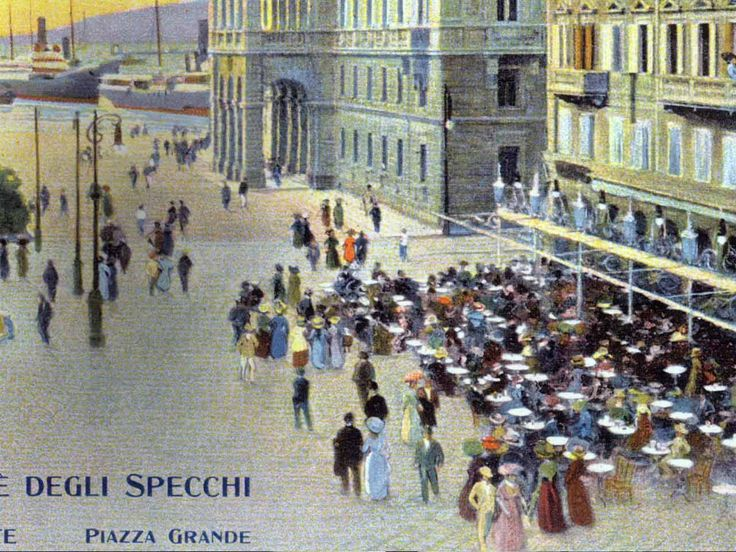17 best images about i caff di trieste on pinterest - Caffe degli specchi trieste ...