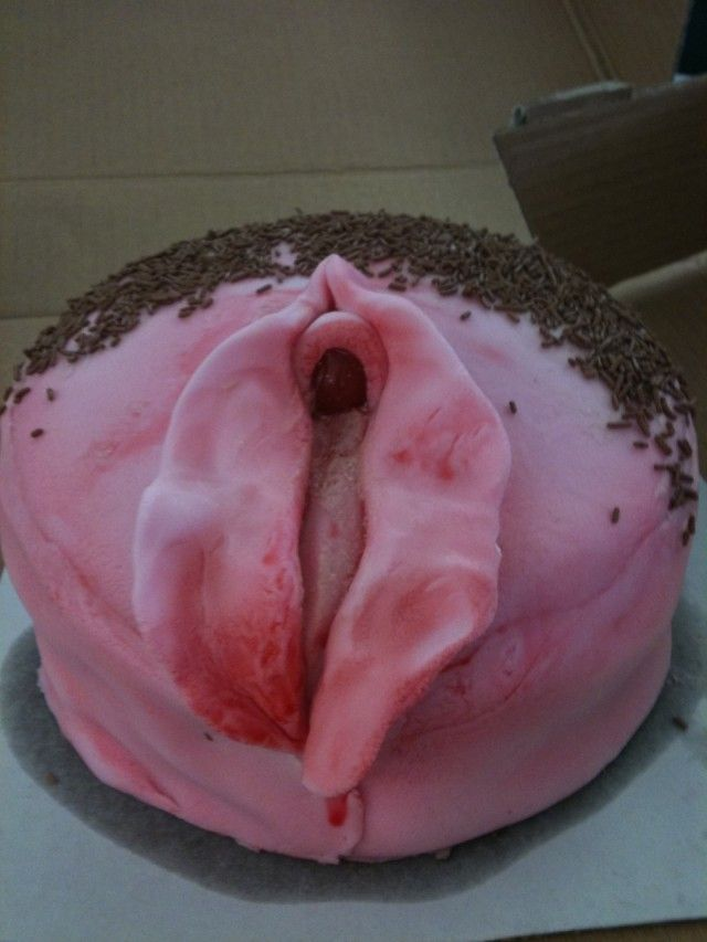 Giving Birth Cake With Poo
