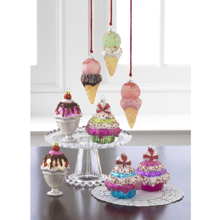 hobby lobby 668533 candy wonderland arrangement i have the sundaes i got from large ornament stand - Candy Christmas Decorations Hobby Lobby