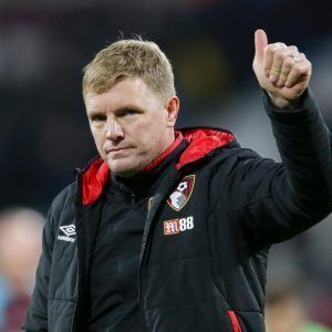PHOTO: Eddie Howe Wins EPL Manager Of The Month