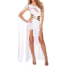 Roman Sexy Grecian Deusa Grega Do Traje Branco Preto Beleza Traje Árabe Princesa Fantasia Vestido de Trajes de Halloween para As Mulheres