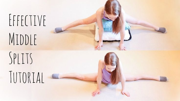 How to get the Middle Splits Fast! - YouTube