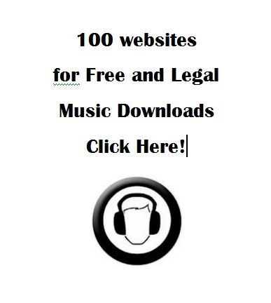 100 websites for Free and Legal Music Downloads