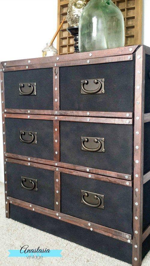 Pottery Barn Inspired Dresser - IKEA Rast Hack | Anastasia Vintage