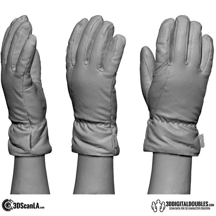 3D Head and Body Scanning for 3D Character Design | 3D Hand Scan 01-12