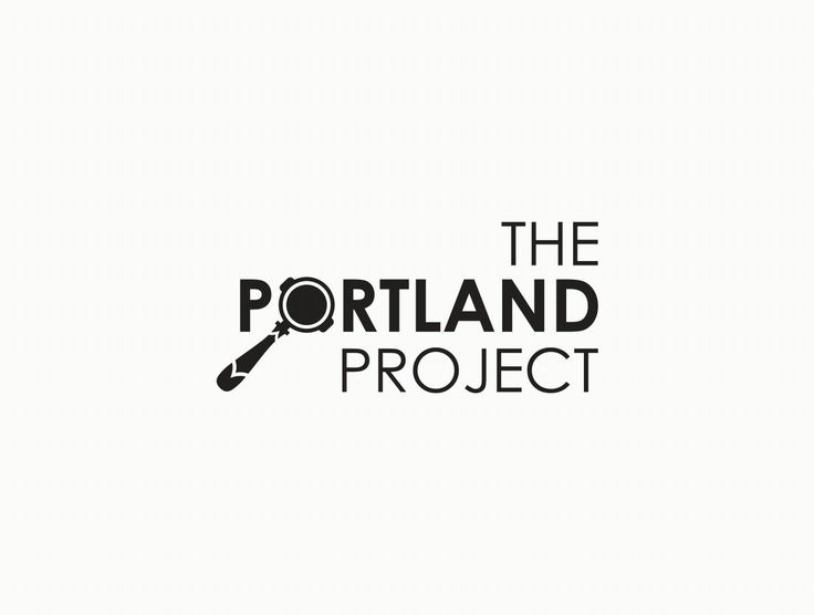 Logo design. Coffee branding. The Portland Project. www.missrubydesigns.co.za