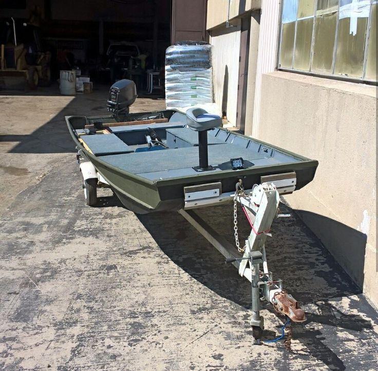 17 best jon boat images on pinterest fishing jon boat for Jon boat bass fishing
