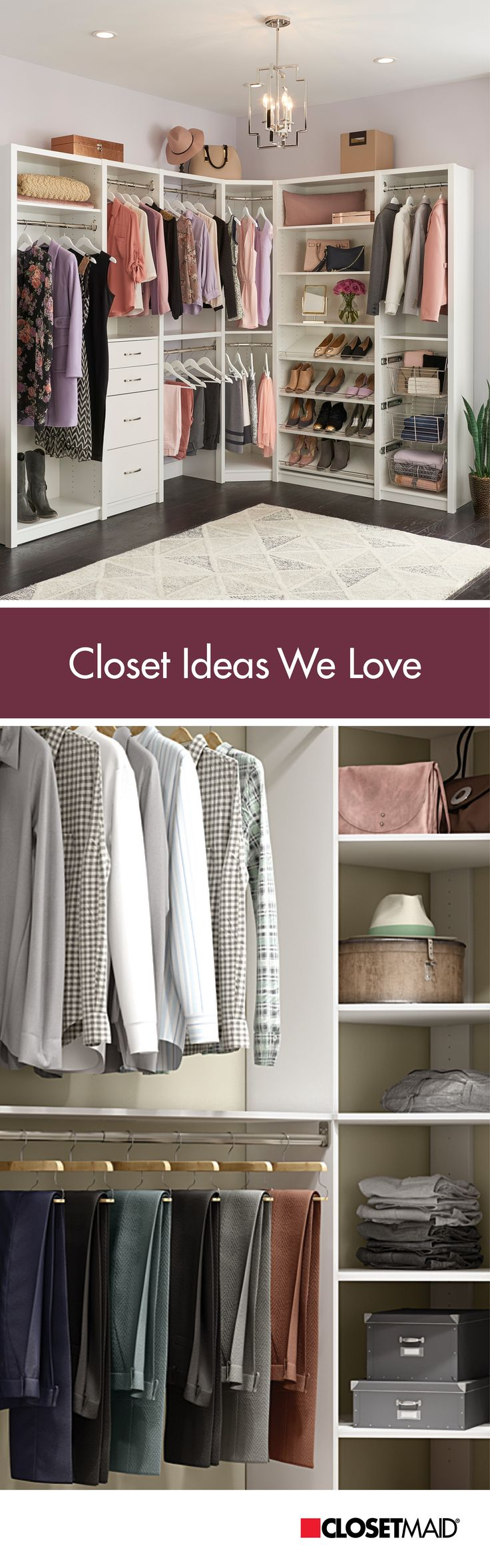 Wonderful Show Your Closet Some Love This Valentineu0027s Day By Getting Organized. Check  Out These Closet