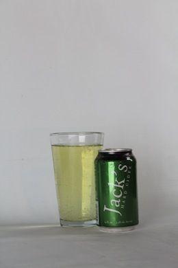Jack's Hard Cider City: Biglerville, Penn. ABV: 5.5% Sweet or dry: Slightly dry Tastes Like: Apple-water
