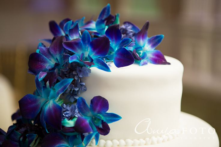 blue orchid wedding cake topper 73 best orchid and cali cakes images on 11998