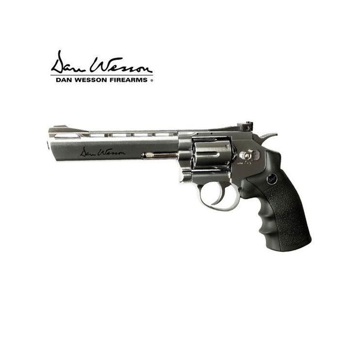 Descubra o revólver chumbo ASG DAN WESSON 6'' SILVER #AirArms #asg #lojaairsoft #lojapressãodear #mundilar #revolver #tirodeprecisão #tirodesportivo