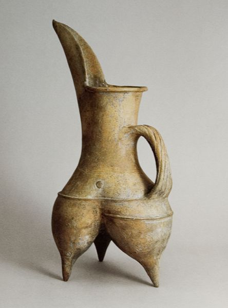 Ancient Chinese tripod jug