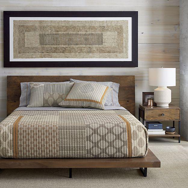 crate and barrel bedroom furniture. Jaipur Quilt and Pillow Shams  Crate Barrel 25 best Dressers images on Pinterest Master bedrooms