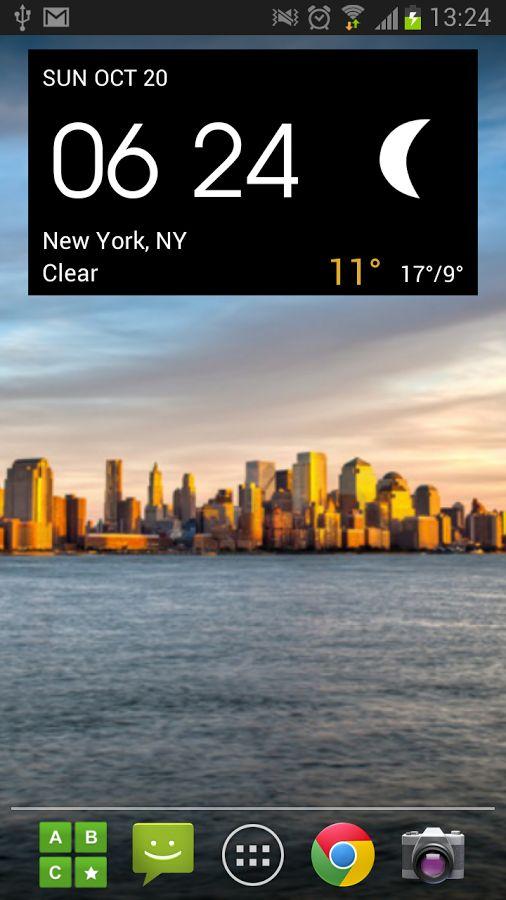 Digital clock & world weather- スクリーンショット
