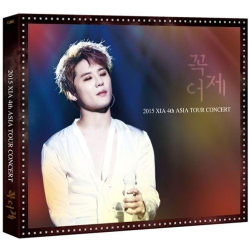 XIA JYJ - 2015 XIA 4th Asia Tour Concert in YOKOHAMA DVD+Photobook+Mini poster