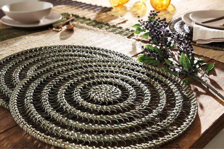 Mats from rattan bamboo #mats #Vietnam
