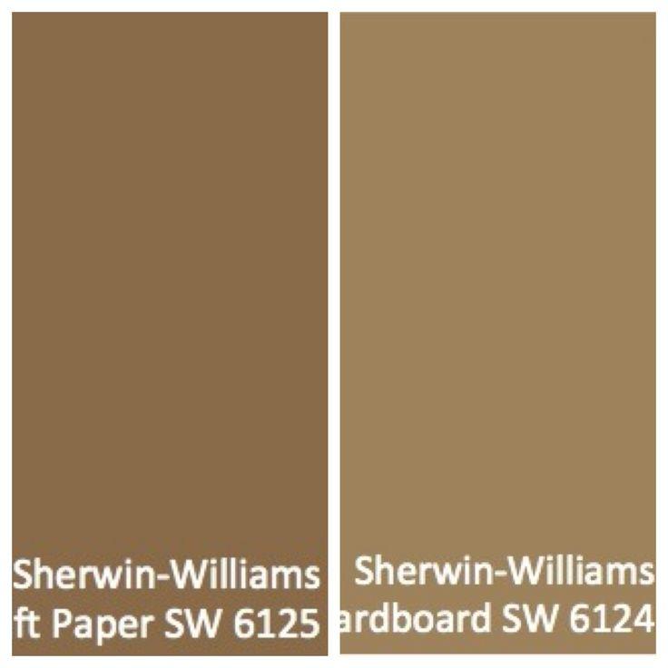 Cardboard And Craft Colors Sherwin Williams Sherwin