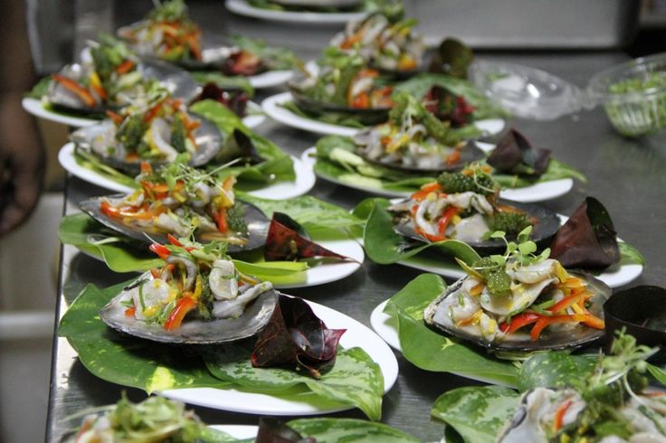 Pearl Oyster Meat Ceviche Style - REAL PASIFIK