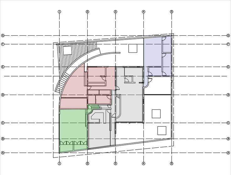 Level 1 plan kidosaki house tokyo japan 1985 86 for Kidosaki house