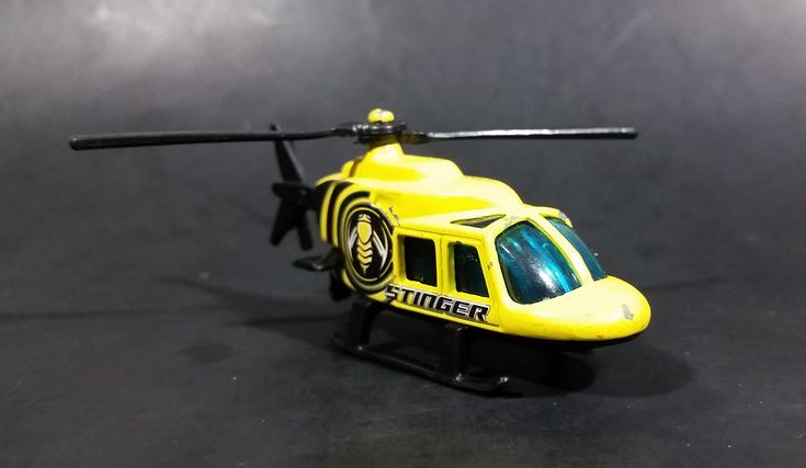 2006 Hot Wheels Aerial Attack 1989 Propper Chopper Stinger Yellow Die Cast Toy Helicopter https://treasurevalleyantiques.com/products/2006-hot-wheels-aerial-attack-1989-propper-chopper-stinger-yellow-die-cast-toy-helicopter #2000s #HotWheels #Aerial #Attack #1980s #80s #Eighties #Propper #Chopper #Stinger #Insects #Bees #Bugs #Helicopters #Aircraft #Diecast #Toys #Collectibles #Flying